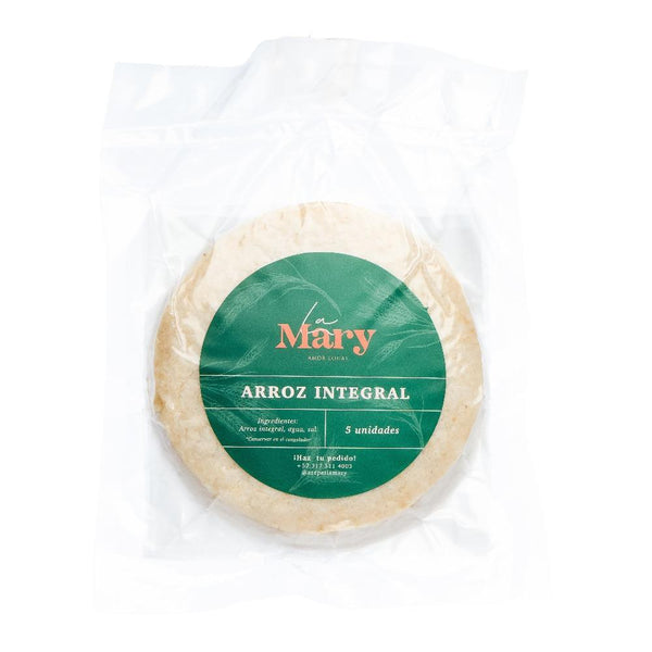 Arepas de arroz integral La Mary