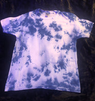 Dark Blue Crumple Shirt