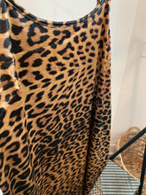 Load image into Gallery viewer, Brown Leopard Print Dress