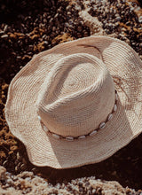 Load image into Gallery viewer, Beach Vibes Wide Brim Hat