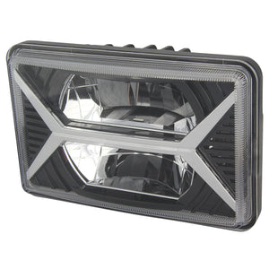 4x6 Sealed Beam Replacement LED Headlight DOT/SAE 10-20169