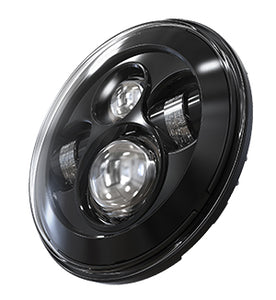 "NEW! 7"" DOT Headlight for Motorcycles and Jeeps 10-20213/10-20214"