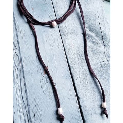 Freshwater Pearl Lariat Necklace