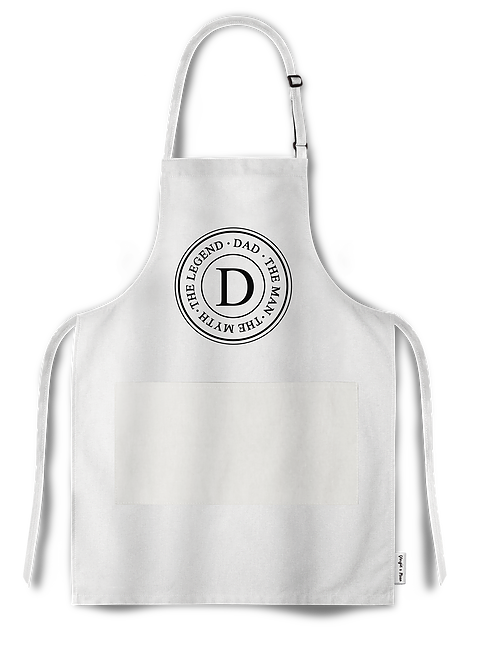 Dad- The Man, the myth, the legend apron