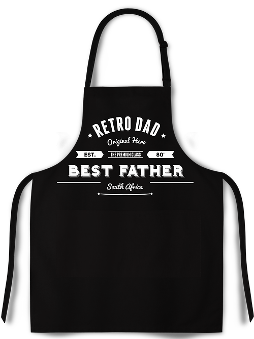 Apron - Retro Dad