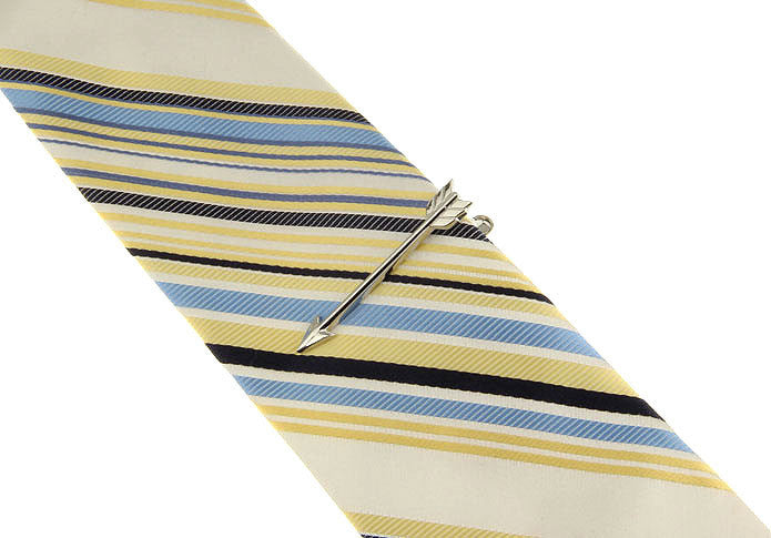 Tie Bar - Silver Arrow