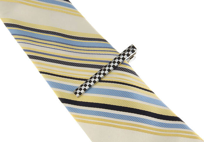 Tie Bar - Checkered Flag