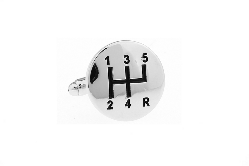 Cuff Links - Gearstick