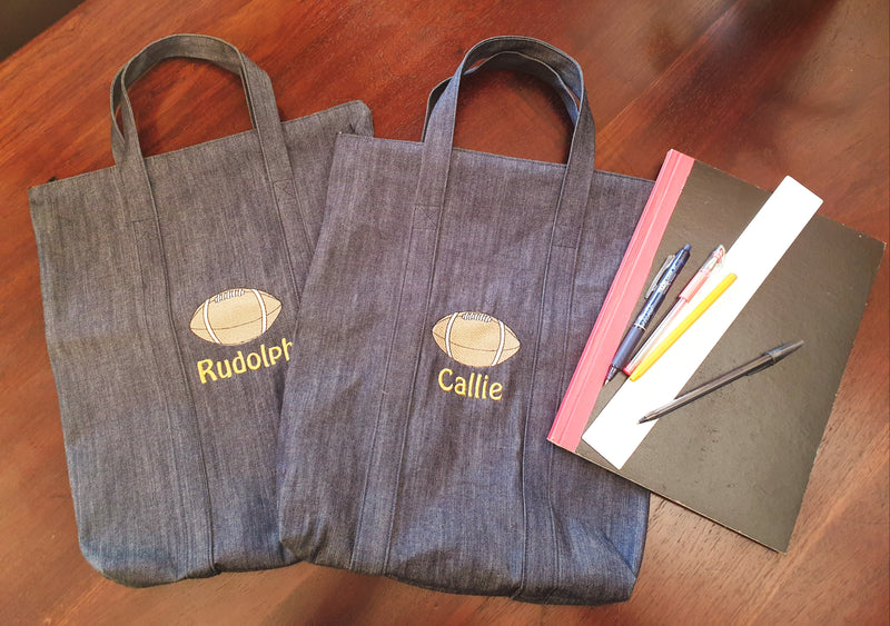 Personalised Book Bags