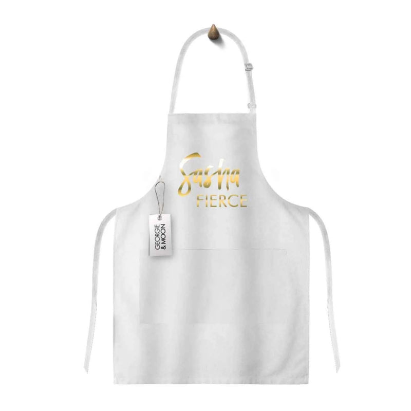 Apron - Glitzy apron with your own text