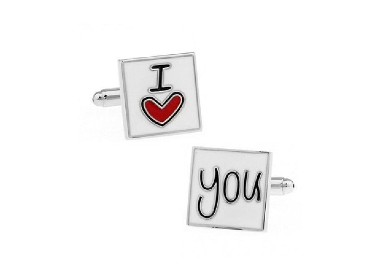 Cuff Links - I love you