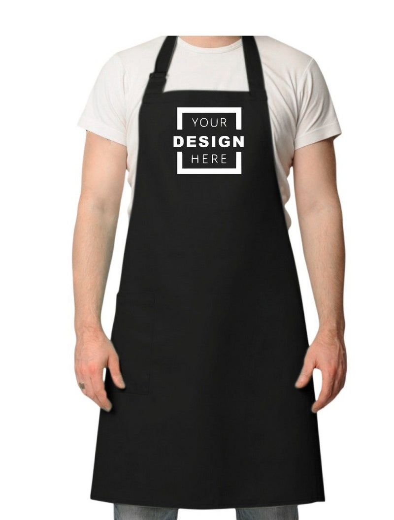 Apron with your own slogan