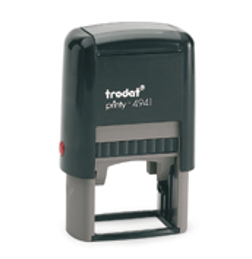 Trodat Document Stamp 4941 (Black Ink stamp)