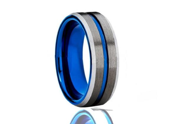 Devotion Tungsten Ring