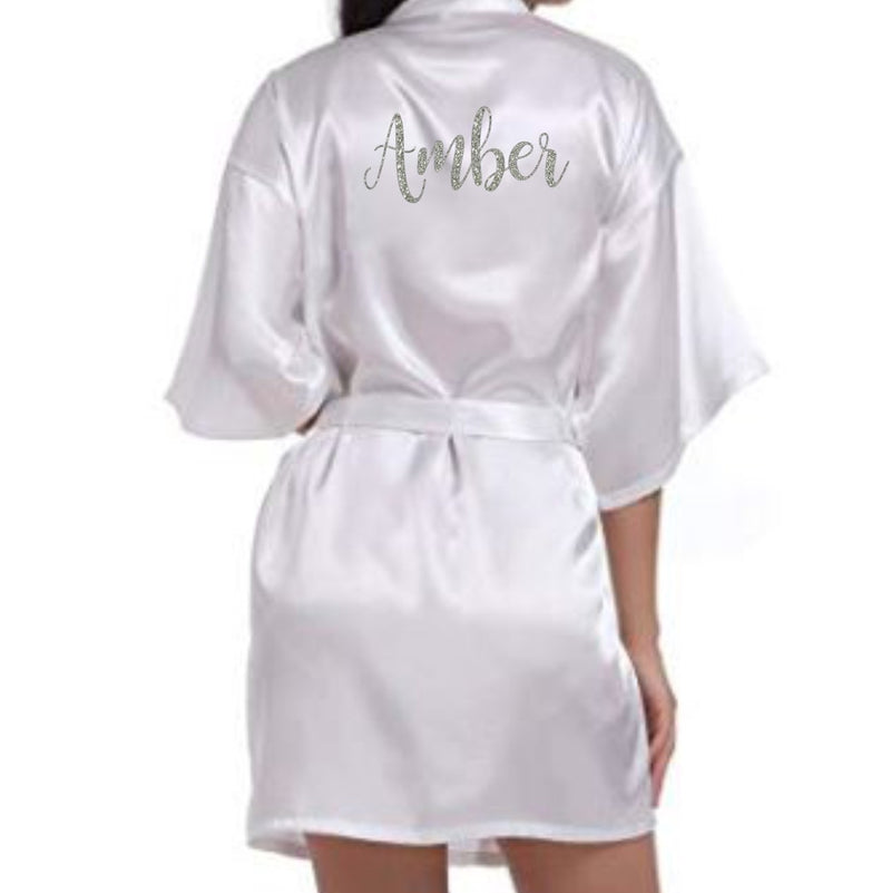 Personalised Satin Gown