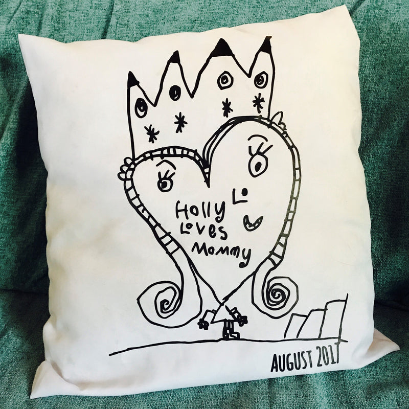 GM - Your artwork on a cushion