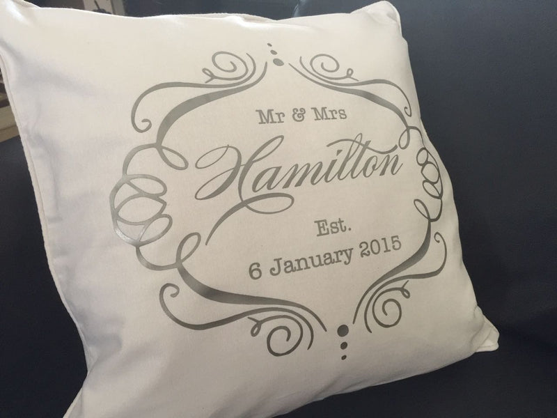 Custom made printed cushion - Design B