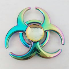 Aluminium  Spinner - Multi Colour Tr-Circle