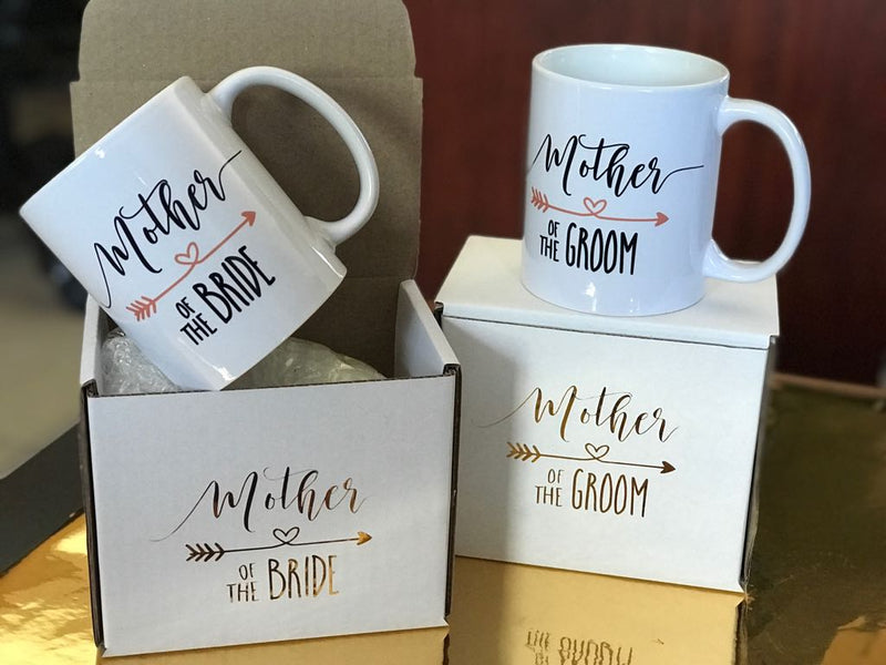Bridal party mugs