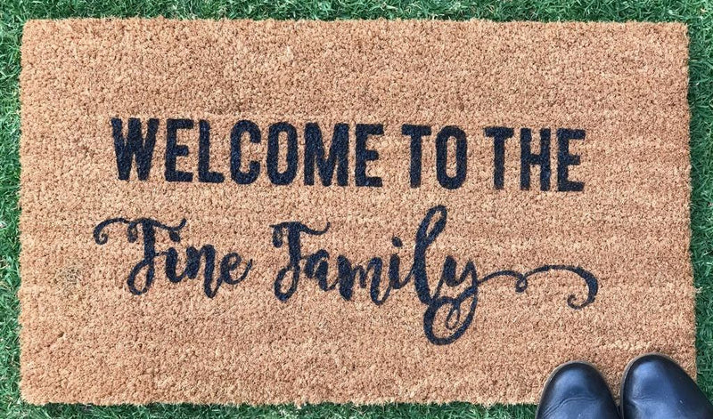 Custom Made Door Mat