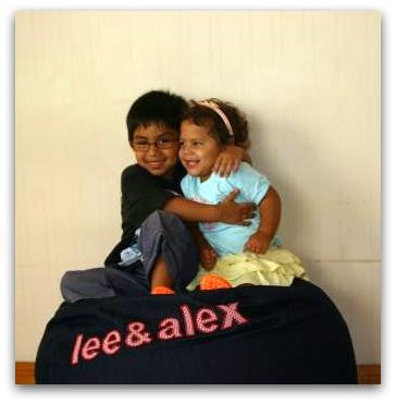 Personalised Denim Bean Bags Covers