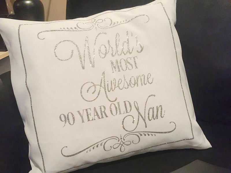 Custom made printed cushion - Design E