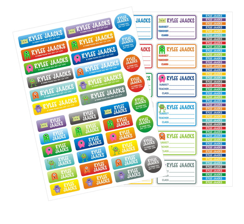 Stationery Pack - School Budget Starter Pack (94 labels)