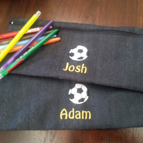 Personalised Pencil Bags (Single bag)