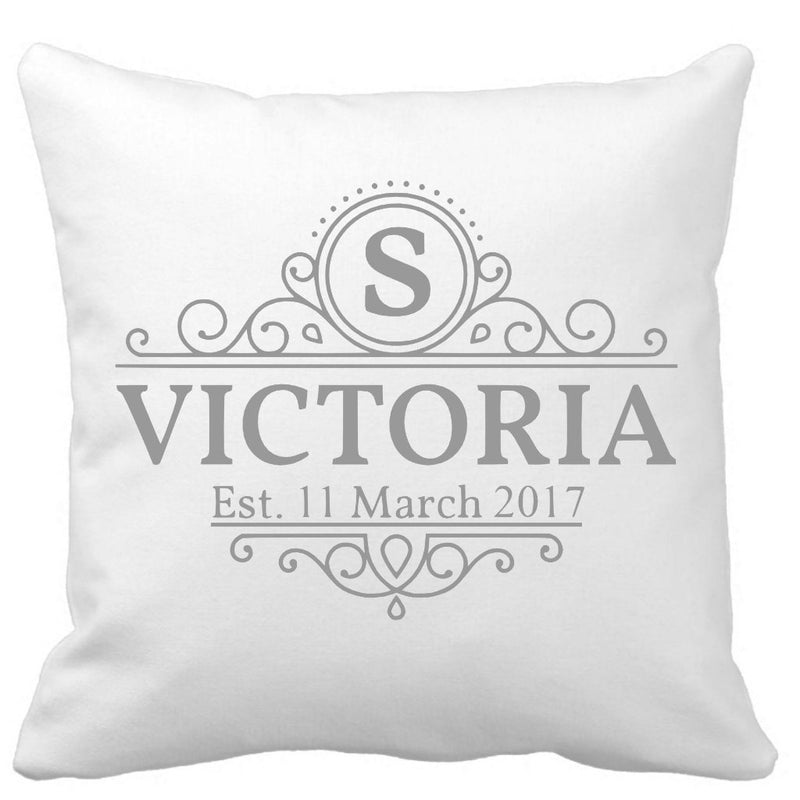 Name and Birth date Cushion