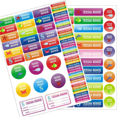 Pack - Pre-School Pack (102 Labels)