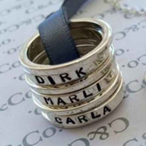 ring poby etsy il name personalized search stackable stacking custom rings