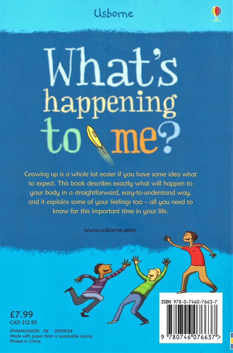 """What's happening to me?"" - a book for boys"