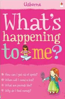 """What's happening to me?"" - a book for girls"