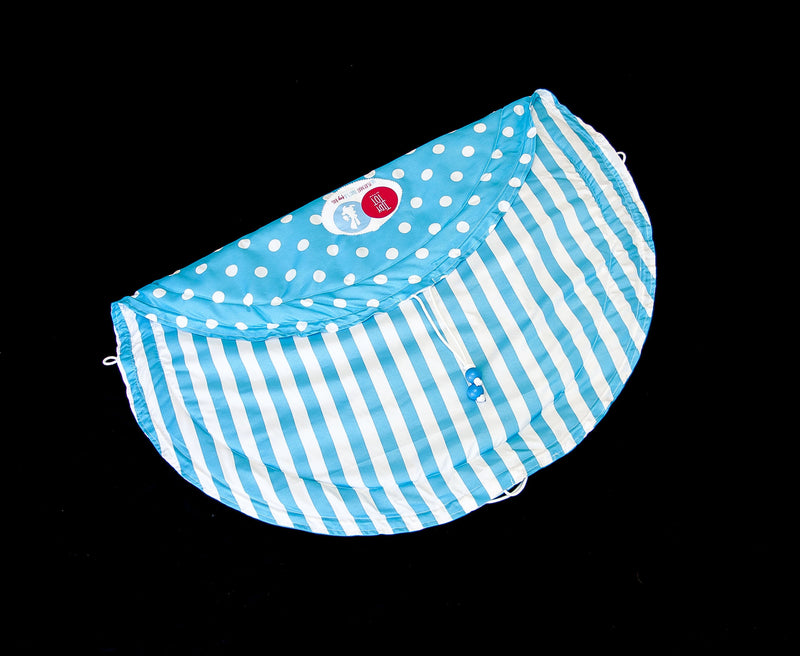 Tidy Tot - Chic - Blue and White stripes / dots