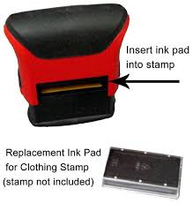 Clothing Stamp Ink Pad