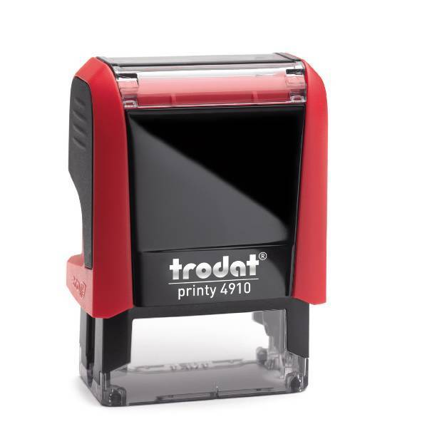 Trodat Document Stamp 4910 (Colour Ink stamp)