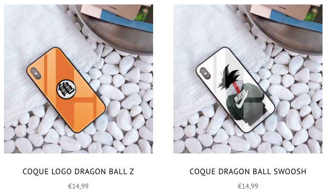 coques iphone dbz