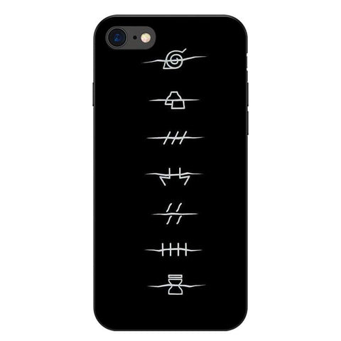 Coque iPhone Naruto villages