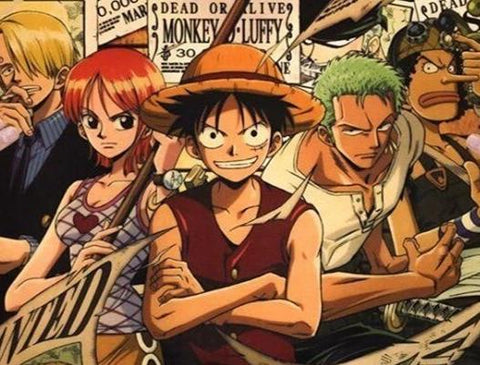 Poster Luffy collector