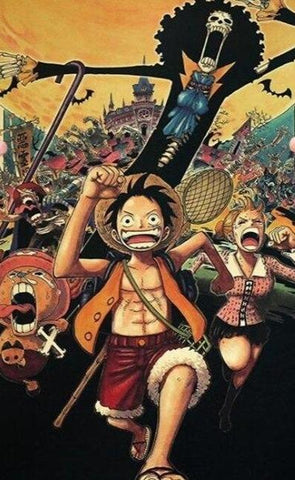 Poster Luffy fan art
