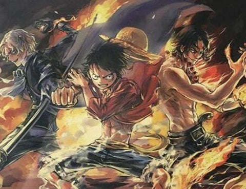 Poster One Piece légendaire