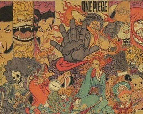Poster One Piece original