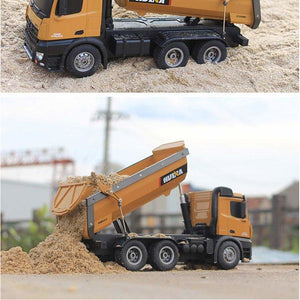 Huina RC Die Cast Dump Truck (1/14th)