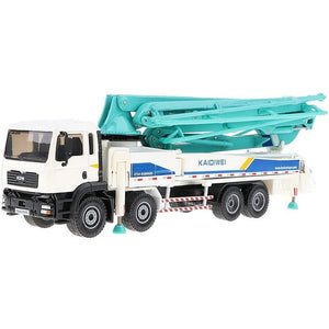 1/55th Scale Diecast Metal Concrete Pump Truck