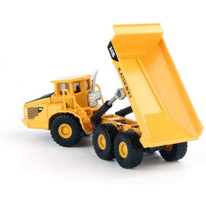 1/87th Scale Diecast Metal Articulated Dump Truck