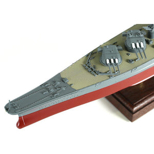 1:700th Die-cast Japanese Yamoto-Class Battleship, IJN Yamoto - Operation Kitkusui Ichigo 1945 - Taigen Tanks