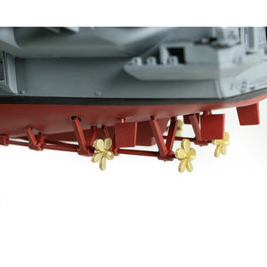 1:700th Die-cast USS Enterprise-Class, USS Enterprise Aircraft Carrier - Operations Enduring Freedom 2001 - Taigen Tanks