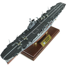 Load image into Gallery viewer, 1:700th Die-cast British HMS Ark Royal Aircraft Carrier - Operations off Norway 1942 - Taigen Tanks