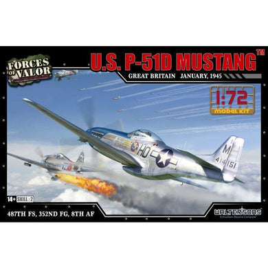 1:72nd Kit US P-51D Mustang - Great Britain, January of 1945 - Taigen Tanks