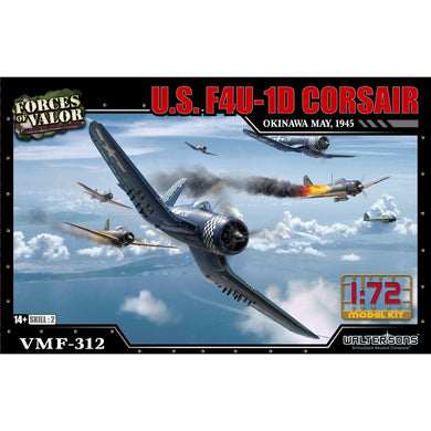1:72nd Kit US F4U-1D Corsair - Okinawa, May of 1945 - Taigen Tanks